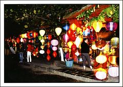 postcard - Hoi-An, Vietnam (Jassy-50) Tags: postcard vietnam unescoworldheritagesite unescoworldheritage unesco worldheritagesite worldheritage whs hoian hoianancienttown lantern light night