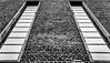 Ziegelwand (MAICN) Tags: 2018 architektur window mono symmetrisch sw structure texture bw blackwhite monochrome ziegelwand schwarzweis fenster geometry wall einfarbig symmetric struktur wand