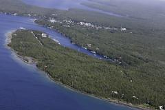 Tobermory (blueheronco) Tags: bigtubharbor bigtubharbour tobermory ontario canada georgianbay brucepeninsula aerialview