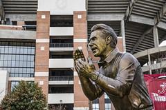 Tuscaloosa '14 (R24KBerg Photos) Tags: alabama football sports ncaa athletics canon 2014 coach crimsontide tuscaloosa al statue tribute nicksaban