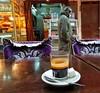 Coffee break (radimersky) Tags: morocco maroko fes fez medina samsung7s coffee smg935f kawa café street streetphotography smartphone stół table szklanka glass travel travelphotography snapseed kawiarnia break cofeebreak
