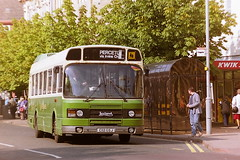 AA BUSES C112GSJ (bobbyblack51) Tags: aa buses c112gsj leyland national irvine 1995