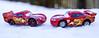head to head (Harry McGregor) Tags: cars macro bokeh snow dof depth field depthoffield red toycars toys harrymcgregor nikon d3300 9 december 2017