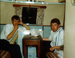 John Devine  1946-1998 (JimGer947) Tags: strontian john devine motherwell alastair gow brian torley clyde alloy gallacher muirhouse barons road caravan 1967 british steel metallurical apprentices chemist alasdair scotstown hotel loch highlands