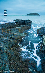 Penmon at High Tide (Twiglet Images) Tags: nikon d600 penmon point lighthouse coast seaside sea ocean atlantic benro tripod manfrotto head ball cpl lee hi tech filters foundation seaweed 4000 iso high landscape seascape