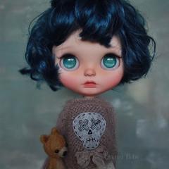 """Touch has a memory."" ~ John Keats (umami_baby) Tags: ifttt instagram mcstr blythe customblythe doll artdoll umamibaby art bigeyegirl kawaii"