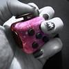 Fidgety. 4/365 (jenwuk) Tags: coloursplash iphonephotography iphone cube hand selectivecolour purple pink fidgetcube 4365 365the2018edition 3652018 day4365 04jan18