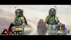 LEGO Boba Fett - ROTJ (AndrewVxtc) Tags: lego star wars custom minifigure boba fett mandalorian mythosaur return jedi rotj sculpted painted toy photography andrewvxtc