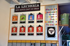 La Lecheria Menu (jpellgen (@1179_jp)) Tags: food restaurant travel nikon sigma 1770mm d7200 december winter roadtrip southwest usa america 2017 santafe newmexico nm sf icecream dessert sweets dairy lalecheria iconikcoffee coffee flight chocolate seasalt eggnog greenchile
