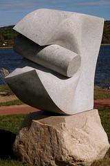 0008891 (Shakies Buddy) Tags: internationalsculpturesymposium sculpture alessioranaldi italy granite stone carving nbphoto grandbaywestfield nb canada ©allrightsreserved brundagepointrivercentre