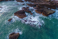 Catterline Bay (Steve Samosa Photography) Tags: catterline seascape sea lowangleview dronecamera droneshot drone aerialview aerial