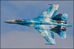 Sukhoi Su-27 (Pavel Vanka) Tags: sukhoi su27 ciaf czechinternationalairfest lkhk hradeckralove czech czechrepublic airplane plane aircraft airshow spotting spot spotter flanker jet fighter