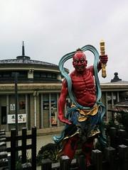 Enoshima Daishi Temple (El Alcalde de l'Antartida) Tags: saifukuji enoshima japan japanese nihon asian temple shrine sanctuary buddhist buddhism daishi fujisawa kanagawa kanto statue red colorful deity art sculpture religious tourism