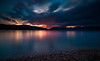 Serenity (free3yourmind) Tags: serenity transquility harmony calm long exposure sunset clouds cloudy day aigio egio greece peloponnese achaea beach