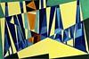 Modern Art - Every Which Way (bill_giddings) Tags: modernart original modernfineart landscapeoilpainting oilpaintingoncanvas colour shapes lines space perspective near farinvestigating spacespace two dimensionsgeometric stylecubistsurrealsurrealismart nouveauart decocontemporary artredbluegreenyellowlight darkilluminationlight shade shadows abstract nikon