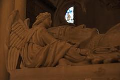 Psychopomp (nedlugr) Tags: newyork ny nyc nycity psychopomp angel death church stainedglass window portal cathedral