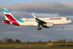 D-AEWS (GH@BHD) Tags: daews airbus a320 a320200 ew ewg eurowings dub eidw dublinairport dublininternationalairport dublin airliner aircraft aviation