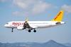 TC-DCM A320 Pegasus (corrydave) Tags: 7200 a320 pegasus barcelona tcdcm