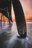 Deceptively Warm Sky (ashercurri) Tags: oceanana pier obx outer banks nc north carolina ocean atlantic water seascape landscape edit photoshop lightroom sony nex nex7