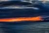 Dal monte di Portofino alle Alpi liguri (Maurizio Longinotti) Tags: montediportofino alpiliguri ponenteligure marligure seascape vista view tramonto sunset capomele sanroccodicamogli camogli sanrocco cielo sky nuvole clouds montagna mountain liguria italia italy