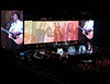 2017 Sydney: Paul McCartney - George Harrison Tribute - Something #13 (dominotic) Tags: 2017 paulmccartney concert paulmccartneyoneonone thebeatles wings music mondaydecember112017 paulmccartneysetlist iphone8 georgeharrison johnlennon ringostarr popmusic rockroll orange yellow sydney australia