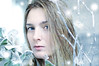 355/365 (Ell@neese) Tags: girl woman pose face winter cold ice portrait manipulation photography photoshop idea eyes blue blonde