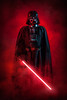 Darth Vader (adenry) Tags: cosplay costume portrait darthvader darth vader sith lord mask cape studio red lightsaber smoke 501st legion aniventure comiccon