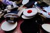 Stockton Flea Market (kendo1938) Tags: stocktonontees england gb fleamarket stocktonfleamarket marketstalls market caps hats navalcaps red