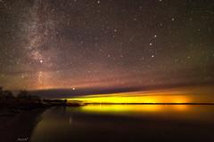 Rain of Fire (Harles Azza Photography) Tags: aurora auroraborealis saaremaa vätta milkyway stars night estonia