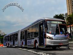 6 1311 Viação Cidade Dutra (busManíaCo) Tags: caio millennium brt articulado mercedesbenz o500uda bluetec 5 viaçãocidadedutra christmas bus