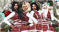 sister's christmas 2017 (Karole Batista) Tags: family sisters lilou arya alhya second life secondlife karolebatista catwa laq wasabi nerido merrychristmas christmas winter