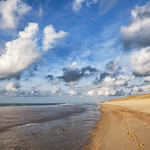 France - Walking on the Beach thumbnail