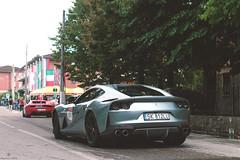 Missile (Mattia Manzini Photography) Tags: ferrari 812 superfast supercar supercars cars car carspotting nikon v12 blue automotive automobili auto automobile italy italia maranello autodromo fiorano ferrari70