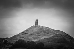 Legends (The Frustrated Photog (Anthony) ADPphotography) Tags: category england glastonbury landscape places somerset travel wirralhill greatbritain mythical myth legend avalon english monochrome mono blackandwhite whiteandblack bw canon70d tamron70300 canon hill tower ruin church tor grass sky cloudysky cloudy clouds landscapephotography travelphotography trees outdoor