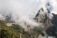Misty Machu Picchu morning