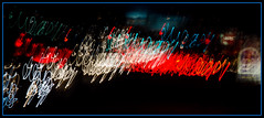 Escape from the fast food chain (NetAgra) Tags: madison fastfood color winter border traffic cold lights blue impliedmotion rushhour dark wisconsin december2018 red night washingtonave frame travel white