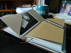 kraft_card_folder_insert_01 (writingforpainandpleasure) Tags: travelers notebook kraft cardstock folder handmade