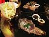 Saint Sylvestre in Paris 2017 - 2018 | Diner at Le Bistro du 28 | Paris 8eme (Elisabeth de Ru) Tags: saintsylvestre paris parijs oudnieuw20172018 lebistrodu28 restaurant frites entrecôte rosé wine châteaulaumerade