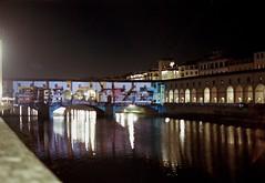 Florence , ponte vecchio (michele.palombi) Tags: arno film 35mm kodak portra400 florence ponte vecchio christmas tuscany italy analogic