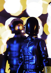 Daft Punk (Sid Ceaser Photography) Tags: select toyphotography toys toyportraits japanesetoys