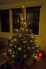 Weihnachtsbaum 2017 (rieblinga) Tags: tanne weihnachtsbaum kugeln nadeln 24122017 beleuchtung