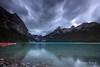 Lake Louise (Rolandito.) Tags: north america kanada canada alberta banff rocky mountains louise lake sunrise colors colours