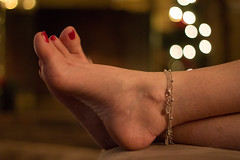 122517Home_4545 (WindJammer Photo) Tags: december 2017 canon 50mm 60d home indoor portrait anklet feet nail polish wife