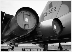 _DSC2349ed (alexcarnes) Tags: avro vulcan bomber xh558 robin hood airport doncaster sheffield engines detail alex carnes alexcarnes nikon d850 sigma 2435 f2 art airplane aircraft