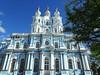 Smolny Kathedrale (Zwischenrast) Tags: kloster kirche skt petersburg rusland