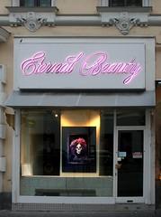 Eternal Beauty (Wolfgang Bazer) Tags: eternal beauty tod death vienna wien wiener viennese friseur hairdresser friseurladen hairdressers shop westbahnstrase neubau österreich austria
