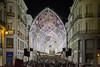 Navidad malagueña (svg74) Tags: lights christmas navidad night noche luces málaga andalucía andalusia city