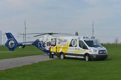Indiana ambulance (CasketCoach) Tags: ambulance ambulancia ambulanz ambulans rettungswagen krankenwagen paramedic ems emt emergencymedicalservice firefighter fordtransit