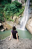 Waterfall (pacco_racco) Tags: waterfall rest water nature yogyakarta java indonesia kodakporta400 leicasummicron35mmf20asph leicam6