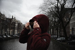 Cold weather in Amsterdam (Marwanhaddad) Tags: portrait cold amsterdam city river cityscape